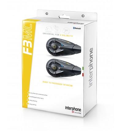 Intercomunicador Interphone F3 MC Doble