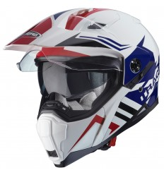 Caberg Xtrace LUX White/Red/Blue