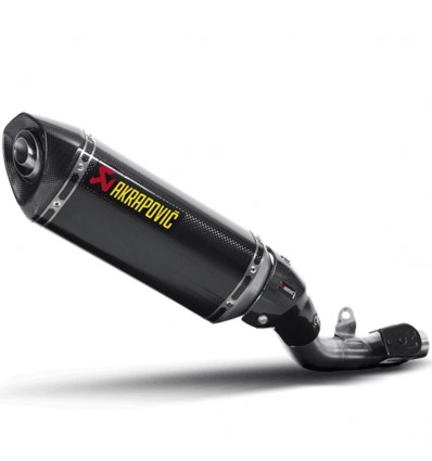 Akrapovic - Kawasaki Z800 (Slip-On Carbono)