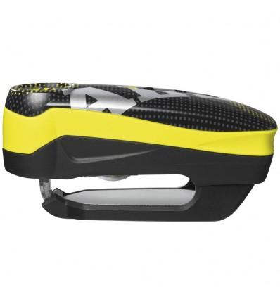 "Abus - Candado de Disco Detecto 7000 RS1 ""Pixel Yellow"" (Alarma)"